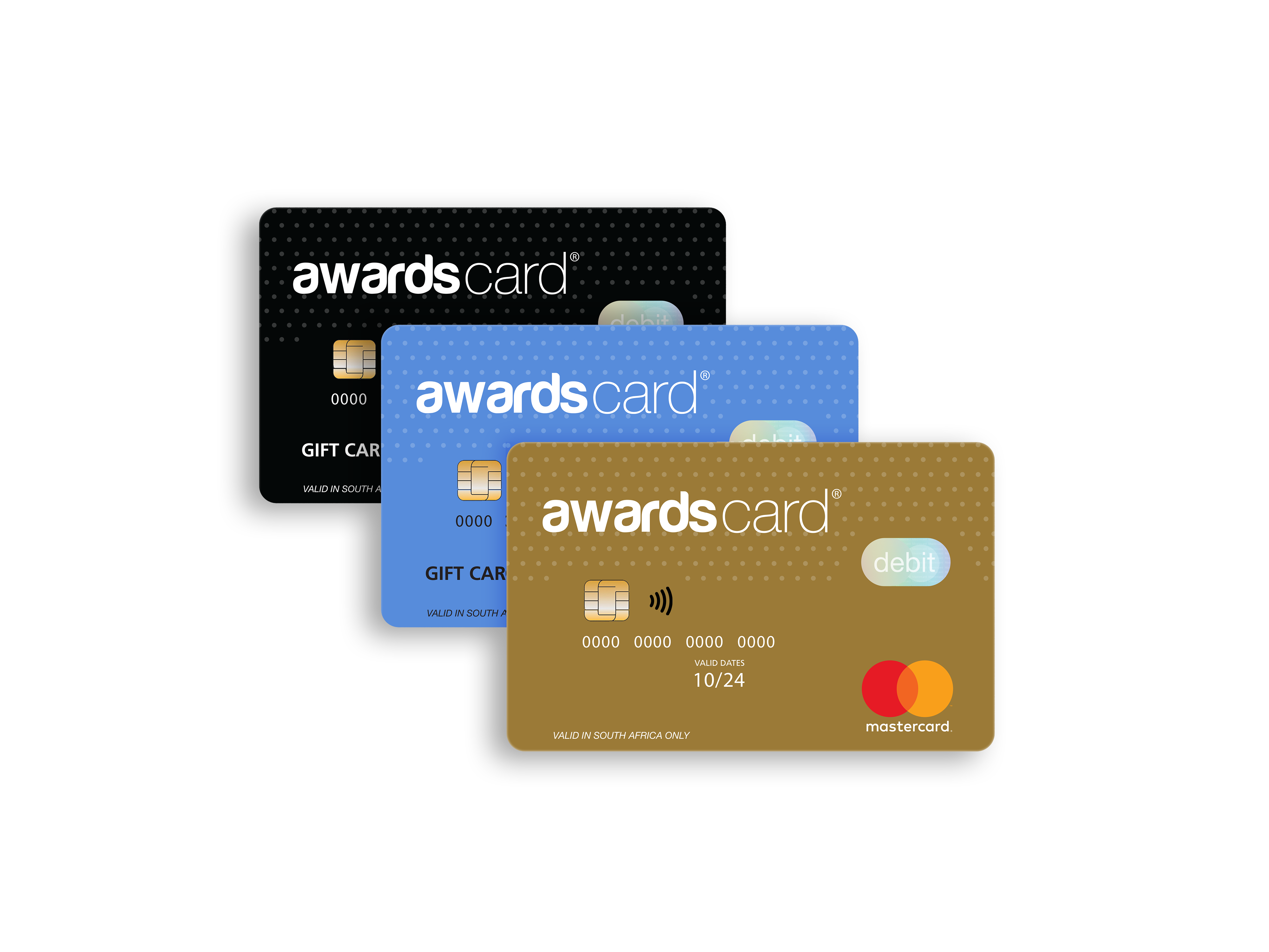 awardscard - front stacked